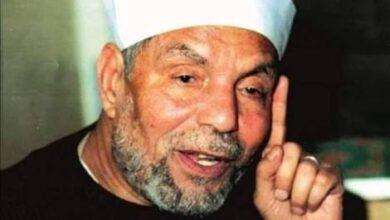 صورة الشعراوي :خصوم الإسلام يحاولون أن يقصروا الإسلام علي أنه أركان فقط