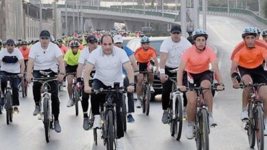 صورة الكاتب الكبير كمال عامر يكتب: حلم دوله فوق دراجة … السيسي أطلق المبادرة.. وصبحي روج لها ونجح