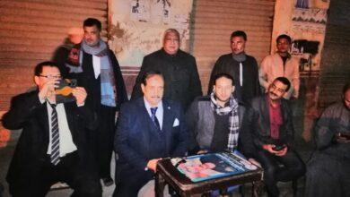 صورة بالصور علي الدين النجار يشعل سباق الانتخابات و ارتفاع اسهم صلاح منصور  قبل ايام من جولة الاعادة