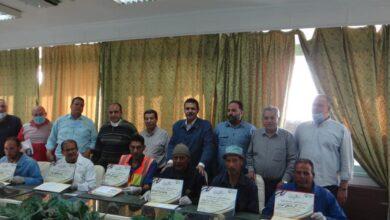 """صورة بالصور.. """" أبو اليزيد """" يكرم  العاملين  بشركة الدلتا للسكر بمناسبة عيد العمال"""